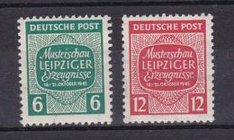 Musterschau Leipziger Erzeugnise ** - Soviet Zone