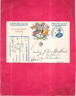 GUERRE  1914   -  Correspondance Militaire 06/01/1917  Du Soldat MATHIEU Du DM-RGA - 050520 - - Guerre 1914-18