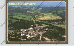 5202 HENNEF - STADT BLANKENBERG, Luftaufnahme - Hennef