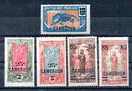 Cameroun Kamerun Y&T 101* - 105* - Cameroun (1915-1959)