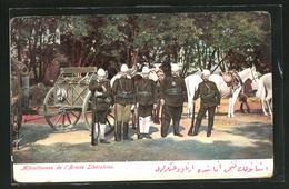 AK Mitrailleuse De L`Armée Libératrice, Soldaten Der Türkischen Befreiungsarmee - Turchia