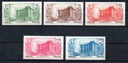 Cameroun Kamerun Y&T 192*, 193(*), 194*, 195*, 196(*) - Kamerun (1915-1959)