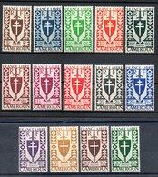 Cameroun Kamerun Y&T 249** - 262** - Cameroun (1915-1959)