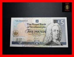 SCOTLAND 5 £ 6.2.2002  P. 362 *COMMEMORATIVE*  *QEII Golden Jubilee 1952 - 2002*   RBS  UNC - Schotland