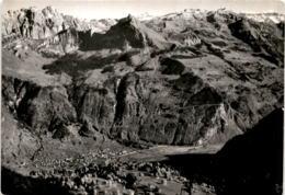 Blick Auf Mollis, Fronalpstockgebiet U. Mürtschenkette Von Den Näfelser Bergen (01887) - GL Glarus