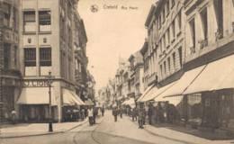 1924 Krefeld Unter Belgischer Besatzung - Dienstpost