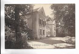 71 - St-ETIENNE-en-BRESSE - Façade Du Château Et Parc - Autres Communes