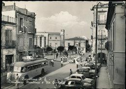 BARCELLONA - MESSINA : PIAZZA MANDANICI CON CORRIERA - Messina