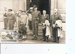 Luxembourg - Libération ( CM Commémorative De 1994 à Voir) - Cartes Maximum