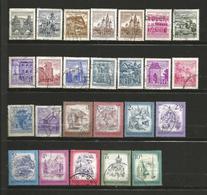 Autriche 1 Lot De 25 Timbres Oblitérés - Briefmarken