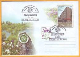 "2020 Moldova Moldavie Moldau  Special Commemorative Postmark ""International Year Of Plant Health 2020"" - Moldova"