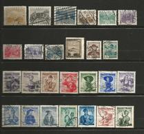 Autriche 1 Lot De 26 Timbres Oblitérés - Briefmarken