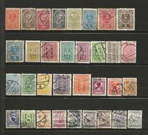 Autriche 1 Lot De 33 Timbres Oblitérés 1918/1945 - Briefmarken