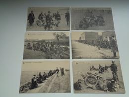 Beau Lot De 20 Cartes Postales De L' Armée Belge Soldats Soldat  Mooi Lot Van 20 Postkaarten Leger Soldaten Soldaat - Postcards