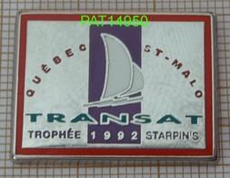 TRANSAT QUEBEC SAINT ST MALO 1992 TROPHEE STARPIN'S En Version ZAMAC - Sailing, Yachting