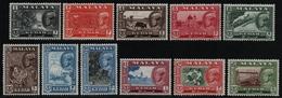 Malaya - Kedah 1959 - Mi-Nr. 95-105 ** - MNH - Freimarken / Definitives (III) - Kedah
