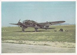 """Alte Ansichtskarte """"die He 11 Wird Startklar Gemacht"""" - 1939-1945: 2ème Guerre"""