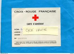 Croix Rouge -Carte D'adhérent Vignette 1970 Cachet- + Vignette Ligue Des Stés Croix Rouge 00.5 - Commemorative Labels