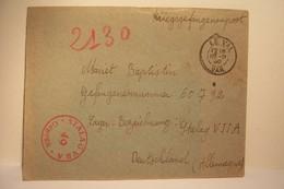MILITARIA  - PRISONNIERS De GUERRE - KRIEGSGEFANGENENPOST -  STALAG - Année 1940 ( Départ LE VAL . VAR ) - Guerre 1939-45