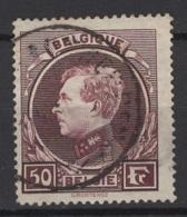 Belgique: 1929. COB : 291A. (Très Léger Aminci) Oblitéré(s).  Cote : 20 € - Belgium