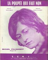 """""""La Poupée Qui Fait Non"""" Michel Polnareff - Paroles Frank Gérald - Photo Rousselle - Musik & Instrumente"""