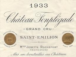 CHATEAU POMPLEGADE . ST EMILION GRAND CRU - Bordeaux