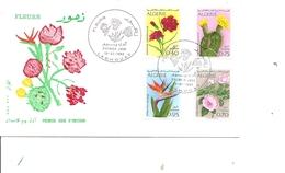 Algérie - Fleurs ( FDC De 1969 à Voir) - Argelia (1962-...)