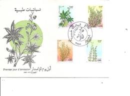 Algérie - Plantes ( FDC De 1982 à Voir) - Argelia (1962-...)