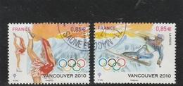 FRANCE 2010 VANCOUVER LA PAIRE OBLITERE- YT 4436 -  4437 - Frankreich