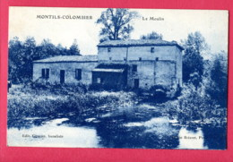 CPA (Réf : AA287) MONTILS-COLOMBIER (17 CHARENTE-MARITIME) Le Moulin - Other Municipalities