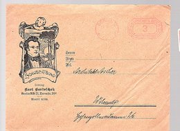 Schubertsbund Karl Bartoschek Berlin Turmstrasse 30 (9-44) - Germany