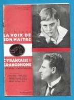 Musique.  Catalogue Illustré Des Disques  LA VOIX DE SON MAITRE  1931. - Música & Instrumentos