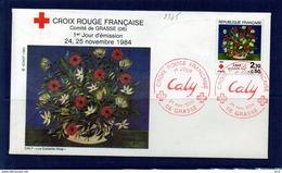 PREMIER JOUR - 2345 - Croix-Rouge (Comité De Grasse) - FDC