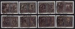 CITTÀ DEL VATICANO VATICAN VATIKAN 1999 ANNO SANTO DEL 2000 HOLY YEAR SERIE COMPLETA COMPLETE SET USATA USED OBLITERE' - Used Stamps