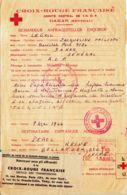 FRANCE - SENEGAL - Message Acheminé Par La Croix-Rouge - Red Cross