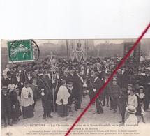 CP 62 - BETHUNE -les Charitables - Remise De La Sainte Chandelle Sur Le Pont Limitrophe De Béthune à Beuvry - Bethune