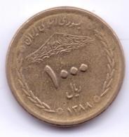 IRAN 2009: 1000 Rials, 1388, KM 1272 - Irán