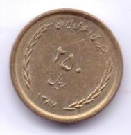IRAN 2008: 250 Rials, 1387, KM 1270 - Irán