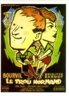 1 CPM - Carte Postale Cinéma - Le Trou Normand - Brigitte BARDOT- BOURVIL - Posters On Cards