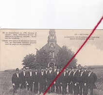 CP 62 - BETHUNE -   La Confrérie Des Charitables De St-Eloi Devant La Chapelle De QUINTY - Bethune
