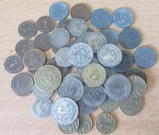 Empire Allemand - Lot De 64 Monnaies 1874 à 1943 - 1 à 50 Pfennig Dont 25 Pfennig 1909, 1910, 50 Pf 1924 D, Etc... - [11] Collections