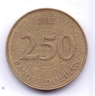 LEBANON 2012: 250 Piastres, KM 36 - Lebanon