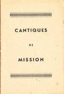 LIVRET CANTIQUES De MISSION 8 Feuiilets Complet * Format 15.5 Cm X 10.5 Cm - Livres, BD, Revues