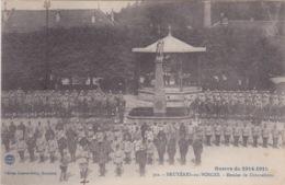 88 - BRUYERES-EN-VOSGES - GUERRE DE 1914-1915 - REMISE DE DECORATIONS - BEAU PLAN - Bruyeres