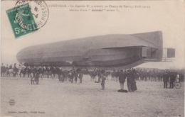 THEMES - AVIATION - DIRIGEABLE - ZEPPELIN N°4 - KOLOSSAL ERREUR - 04-1913 - ATTERISSAGE AU CHAMP DE MARS - Dirigeables