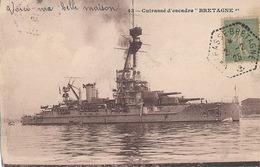 CUIRASSE D'ESCADRE - N° 43 - BRETAGNE - Oorlog