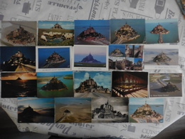 LOT  DE   42  CARTES   POSTALES     NEUVES   ET  1  CARNET DU  MONT  ST  MICHEL - Cartes Postales