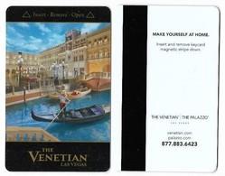 The Venetian Casino & Hotel, Las Vegas, Used Magnetic Hotel Room Key Card, Venet-101 - Cartas De Hotels