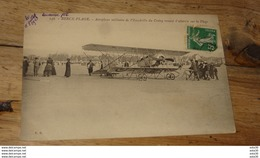 BERCK PLAGE : Aéroplane Militaire De L'escadrille Du Crotoy …... … PHI.......2669 - Berck