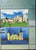 2017 Ungarn Mi. 5900-1 Used Europa - Burgen Und Schlösser - 2017